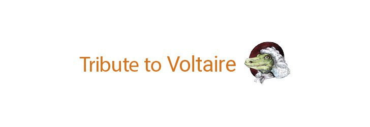 Tribute to Voltaire